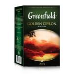 Чай Greenfield Golden Ceylon чёрный листовой 200 г (gf.106465)