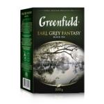 Чай Greenfield Earl Grey Fantasy чёрный листовой 200 г (gf.106466)
