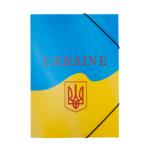 Папка на резинках Buromax пластиковая Ukraine A4 Желтая (BM.3958-08)