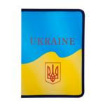 Папка на молнии Buromax пластиковая Ukraine A4 Желтый (BM.3960-08)