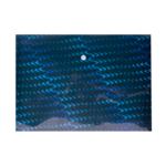 Папка-конверт на кнопке Buromax пластиковая Flash А4 Синий (BM.3955-02)