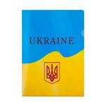 Папка-уголок Buromax пластиковая Ukraine А4 Желтый (BM.3966-08)