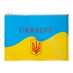 Папка на молнии Zip-Lock Buromax пластиковая Ukraine А4 Желтый (BM.3962-08)