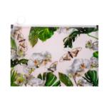 Папка на молнии Zip-Lock Buromax пластиковая Orchid B5 Белый (BM.3965-12)