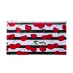 Папка на молнии Zip-Lock Buromax пластиковая Cherry DL Красный (BM.3964-05)