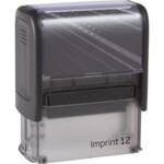 Оснаска для штампа Trodat Inprint 12 (8912) черная (Imprint 12 чорна)