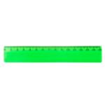 Линейка пластиковая Спектр 15 см прозрачная Зеленая (ЛП-150з)