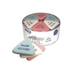Ластик Milan 4836, треугольный, ассорти (ml.4836)