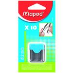 Набор грифелей Maped, 2 мм, 10 шт (MP.134210)