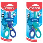 Ножницы детские Maped KidiPulse, 120мм, блистер, сине-голубой (MP.472110)