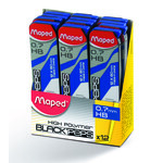 Стержни к механическим карандашам Maped HB 0,7 мм 12 шт. (MP.560430)