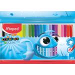 Фломастеры Maped Color Peps Ocean цветные 24 шт. в упаковке (MP.845722)