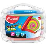 Мелки цветные гелевые Maped Color Peps Gel 6 цветов (MP.836306)