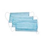 Маска защитная, трехслойная (в упаковке 50 шт) (mz.203)