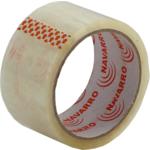 Скотч упаковочный Navarro, 48 мм, 50 ярдов, 40 мкм, прозрачный (nr.45400)
