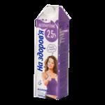 Молоко 2,5% 1000г, безлакт, ультрапастер., НА ЗДОРОВЬЕ (nz.86122)