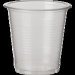 Стаканы одноразовые пластиковые BuroClean, прозрачные, 100 мл, 100 шт (1080005)