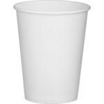 Стаканы одноразовые бумажные BuroClean, белые, термо, 250 мл, 50 шт (1080022)