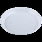 Одноразовая тарелка десертная BuroClean, белая, 16,5 см, 100 шт ( 1080121)