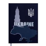 Ежедневник недатированный Buromax UKRAINE, A5, 288 стр., кобальтовый (BM.2021-54)