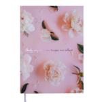 Ежедневник недатированный Buromax SPOLETO, A5, 288 стр., розовый (BM.2029-10)