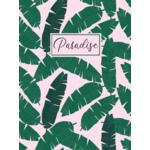 Ежедневник недатированный Buromax PARADISE, A5, 288 стр., зеленый (BM.2058-04)