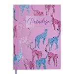 Ежедневник недатированный Buromax PARADISE, A5, 288 стр., светло-розовый (BM.2058-43)