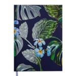 Ежедневник недатированный Buromax FANCY, A5, 288 стр., темно-синий (BM.2059-03)