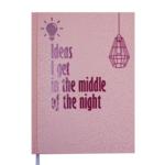 Ежедневник недатированный Buromax FATTORE, A5, 288 стр., розовый (BM.2060-10)