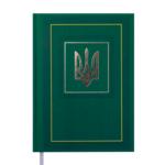 Ежедневник недататированный Buromax NATION, A5, 288 стр., зеленый (BM.2006-04)