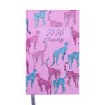 Ежедневник датированный Buromax PARADISE, A5, 336 стр., светло-розовый (BM.2198-43)