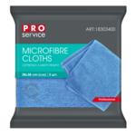 Салфетки из микрофибры PRO Service универсальные 38 х 38 3 шт синие (pr.18303400)