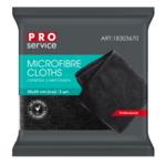 Салфетки из микрофибры PRO Service Bar Area универсальные 5 шт чёрные (pr.18303670)