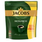 Кофе растворимый Jacobs Monarch, 400г, пакет (prpj.43128)