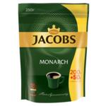 Кофе растворимый Jacobs Monarch, 250г, пакет (prpj.90137)