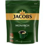 Кофе растворимый 60 г, пакет, ТТ JACOBS MONARCH (prpj.90922)