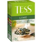 Чай Tess Lime зелёный листовой 90 г (prpt.105169)