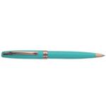 Ручка шариковая Regal с глянцевым лакированным корпусом бирюзового цвета в пластиковом футляре Синяя (R38223.PB10.B)