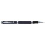 Ручка-роллер Regal с матовым корпусом черного цвета в подарочном футляре Черная (R502424.L.R)