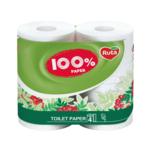 Туалетная бумага Ruta 100% Paper 4 рулона двухслойная белая (rt.43991)