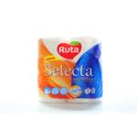 Полотенца целлюлозные Ruta Selecta трехслойные 115х225 мм 2 рулона на гильзе 12 м (105 листов) Белые (rt.44516)
