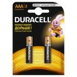 Аккумулятор Duracell LR03 AAA, 800 mAh, 2 шт