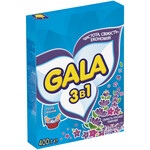 Порошок стиральный Gala ручная стирка 400 г 2в1 Свежесть горной лаванды (s.07893)