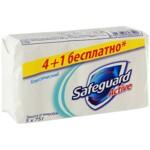 Мыло туалетное Safeguard Классический, 75 г, 5 шт