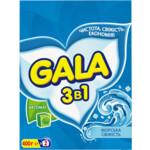 Стиральный порошок Gala 2 в 1 Морская свежесть, автомат, 400 г
