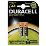 Аккумулятор Duracell LR06 AA, 800 mAh, 2 шт