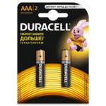 Батарейка Duracell LR03 AAA, 2 шт