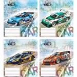 Тетрадь Мрії Збуваються 12 л. в косую линию Super Rally (ТА5.1221.2834с)