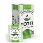 Чай зеленый TOTTI Tea «Весенний жасмин», пакетированный, 2г*25*32 (tt.51500)