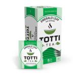 Чай зеленый TOTTI Tea «Смарагдовий лист», пакетированный, 2г*25*32 (tt.51501)